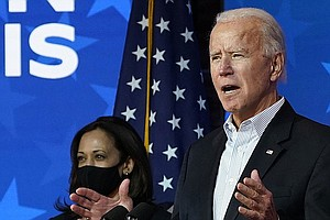 Biden To Make Victory Speech As President-Elect At 8 P.M. ET