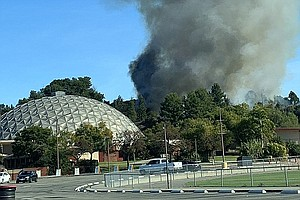 Evacuation Warning Lifted In San Marcos Wildfire