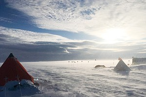 San Diego Research Finds Atmospheric Rivers Building Ice In Antarctica