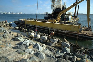 Man Made Tide Pools May Protect Land Around San Diego Bay