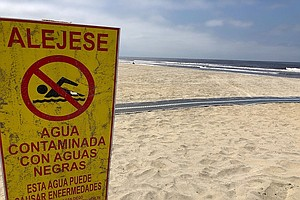 Sewage Flows Continue To Foul South San Diego County Beaches