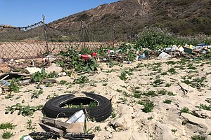 Tijuana River Valley Pummeled By Garbage
