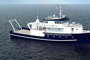 New Scripps Institution Of Oceanography Research Vessel Runs On Hydrogen