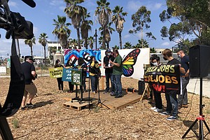 San Diego Climate Advocates Push For Green New Deal