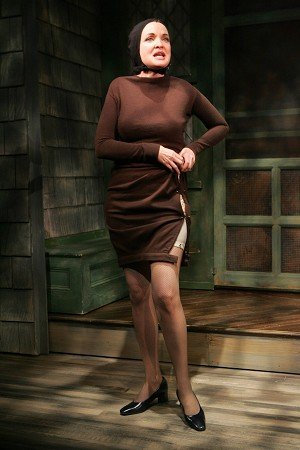Christine Ebersole as Little Edie Beale in the musical Grey Gardens.