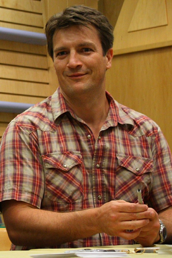 Nathan Grin (Nathan Fillion from Dr. Horrible!)