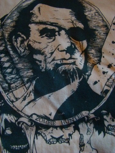 Abe Lincoln, Zombie Hunter at Enclothe