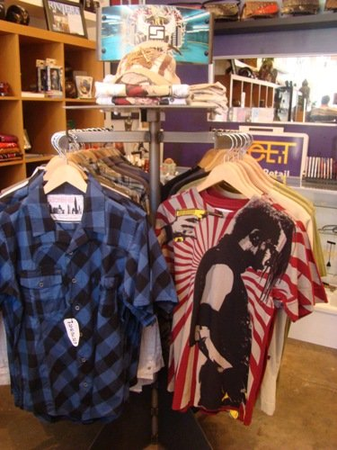 The Stiska selection at FeeLit.  I am now the proud owner of the shirt on the right.