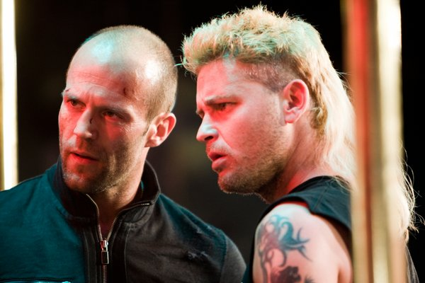 Jason Statham and Corey Haim (yes Corey Haim!) in Crank: High Voltage