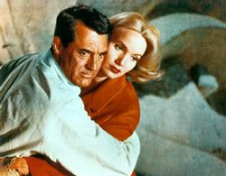 Eva Maria Saint and Cary Grant from North by Northwest.