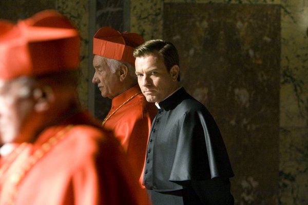 Ewan McGregor stars in Angels and Demons