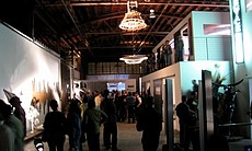 Opening night of It Moved at Device Gallery in Barrio Logan.