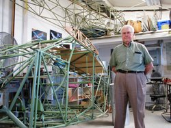 86-year-old Neal LaFrance continues to rebuild and fly planes.