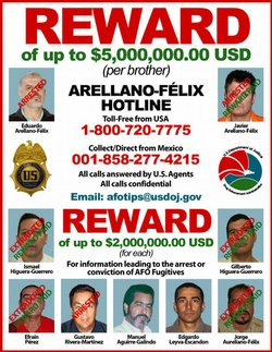 DEA Releases Wanted Poster