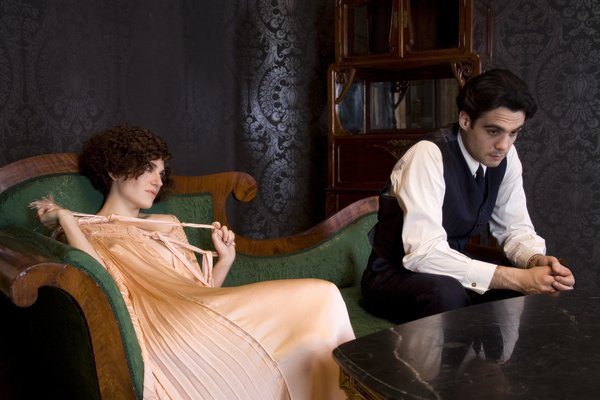 Marina Gatelli and Javier Beltran in Little Ashes