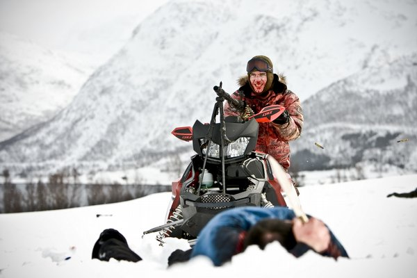 "Dealing with freezing conditions both on screen and off in ""Dead Snow"""