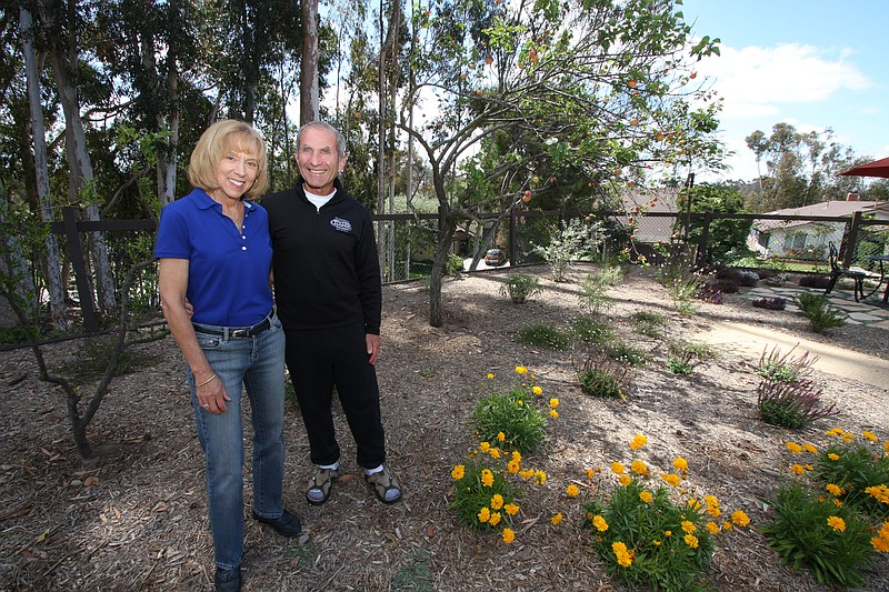 High water bills last summer convinced Scripps Ranch homeowners Meg Kaufman a...