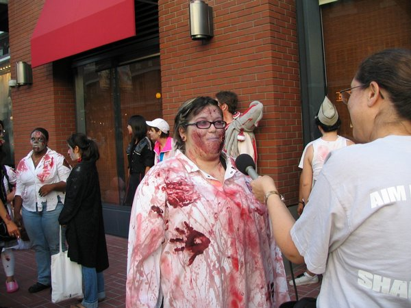 World Zombie Walk's San Diego event organizer Jennifer Musquiz.