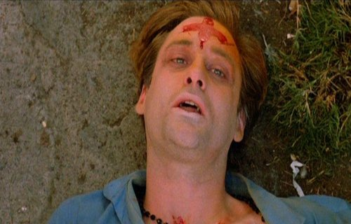 """Don't bury me, I'm not dead yet...."" Bill Pullman in ""The Serpent and the Rainbow"""