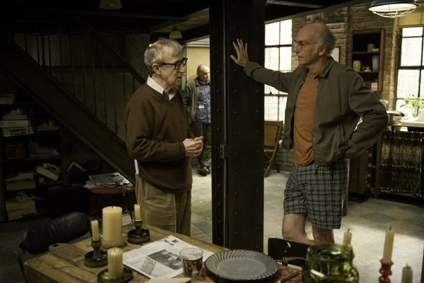 "Woody Allen directs Larry David in ""Whatever Works"""