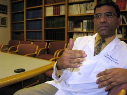When patients have end stage hepatitis C, they come to UCSD's Dr. Ajai Khanna...