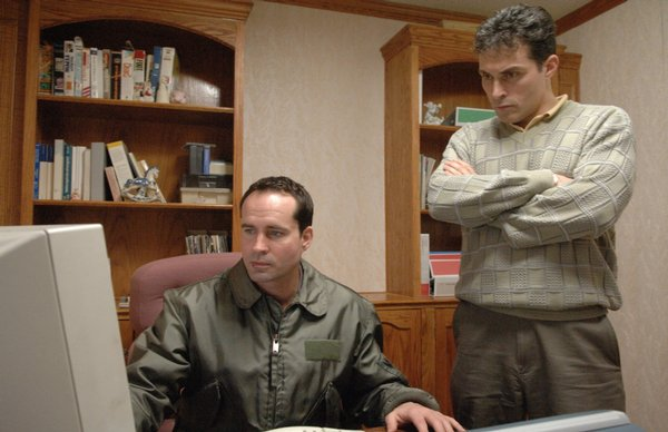 "Jason Patric and Rufus Sewell in ""Downloading Nancy"""