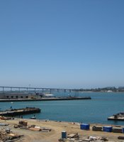 One of the Port's largest tenants, NASSCO and other industrial businesses along the waterfront provide 42,000 jobs to the San Diego region.