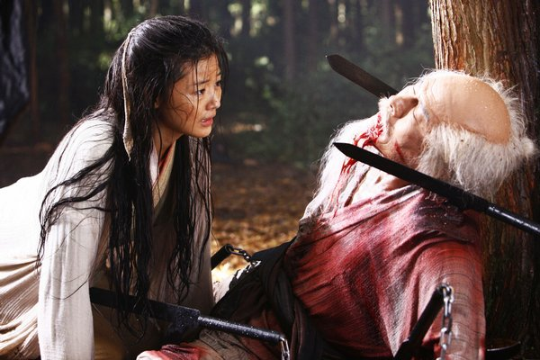 "A flashback reveals Saya's past in ""Blood: The Last Vampire"""