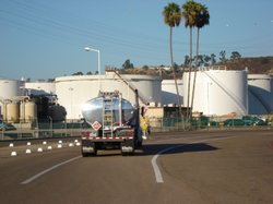 As much as 500,000 gallons of fuel leaked below this Mission Valley Terminal ...