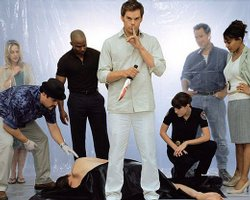 "The cast of Showtime's ""Dexter."""