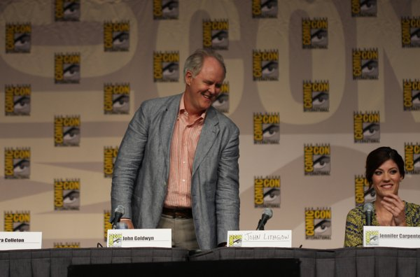 "John Lithgow at the ""Dexter"" panel."