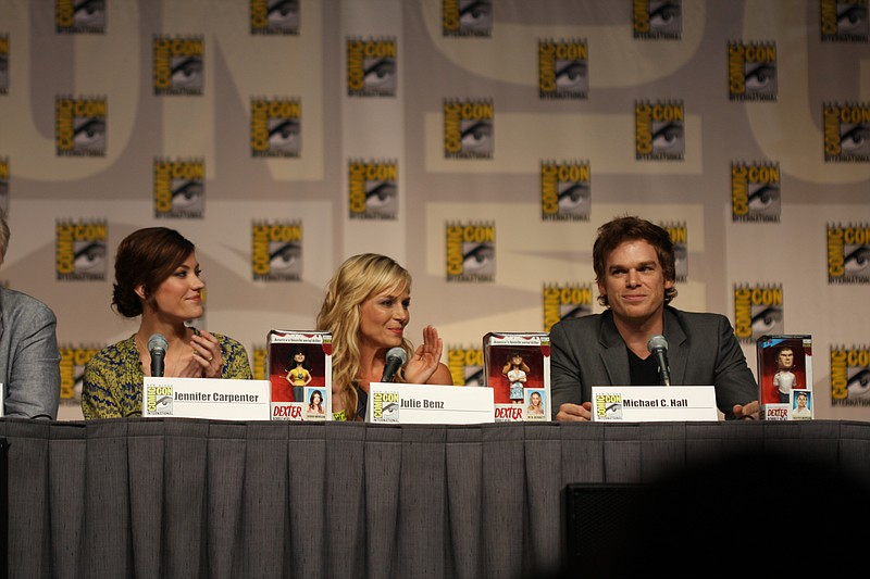 Dexter Panel at Comic-Con: Michael C. Hall, John Lithgow ...