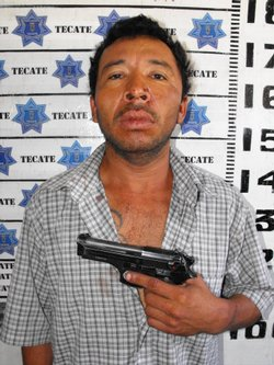 Mexcian police say a witness has fingered Ernesto Parra Valenzuela as the gun...
