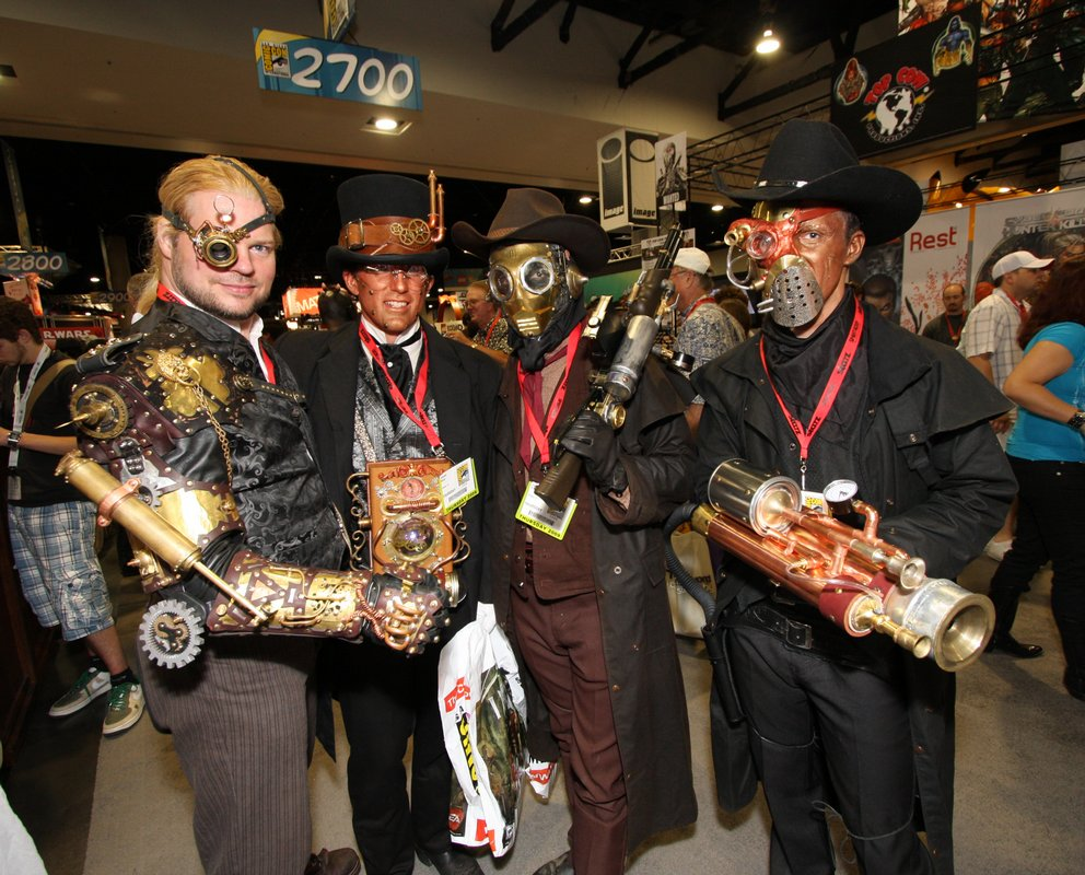 Steampunks At Comic-Con International, 2009 (Photo Gallery ...