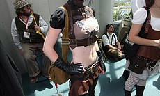 Kato is a model who specializes in steampunk fashion.