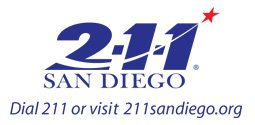 Real People. Real Answers. Real Help. Where do you start? Dial 211 or visit 211sandiego.org.