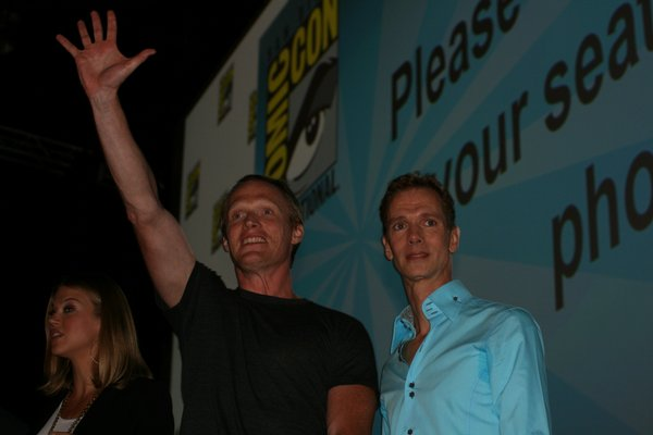 "Paul Bettany at the ""Legion"" panel"