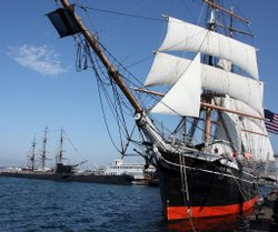 The Star of India, a historical landmark, will go under routine repairs at a dry dock in South Bay on August 18.