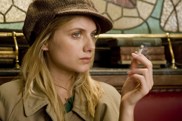 "Melanie Laurent as a women with very personal reasons for revenge in ""Inglourious Basterds"""