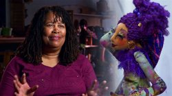 Mari Morris (pictured) works day and night creating dolls inspired by her ima...