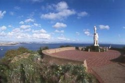 Cabrillo National Monument is a scenic park located at the tip of Point Loma ...