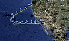 Charting the August 2-21 expedition of doctoral...