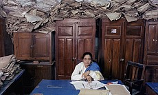 """Bureaucratics"" series, India.  By Jan Banning.  2nd Place Winner."