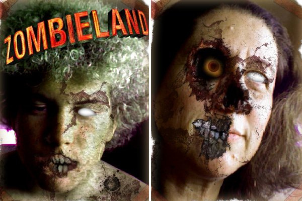 "Zombify yourself at the ""Zombieland"" official website"