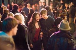 Michael Cera and Kat Dennings in Nick and Norah's Infinite Playlist.