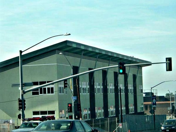 The new Lincoln High School campus on Imperial Avenue in southeast San Diego.