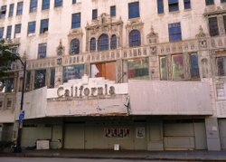 The California Theater as it looks today.  Located at 4th and C in San Diego....