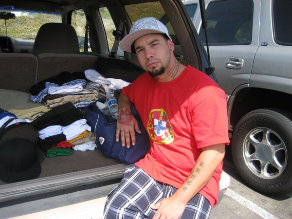 Kenneth Kunce, an Iraq war veteran who is living out of the back of his truck in San Diego and still trying to get a foothold on life, almost two years after being discharged. He has been diagnosed with TBI (Traumatic Brain Injury).