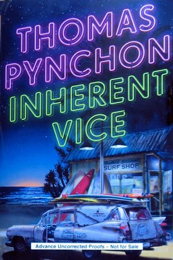 """""""Inherent Vice"""" by Thomas Pynchon."""