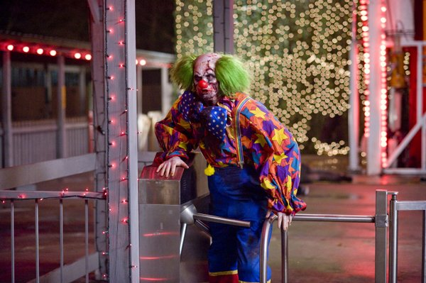 "Killer undead clowns in ""Zombieland"""